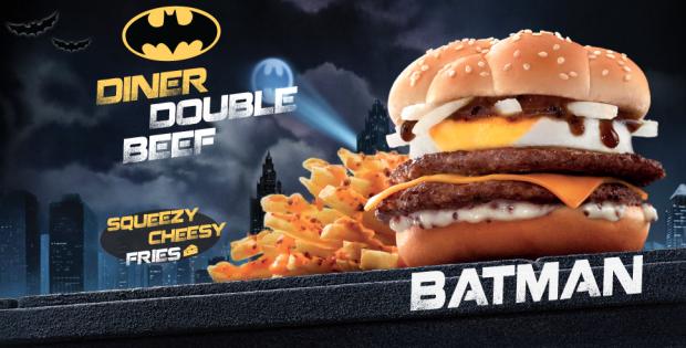 McDonald's Batman Burger