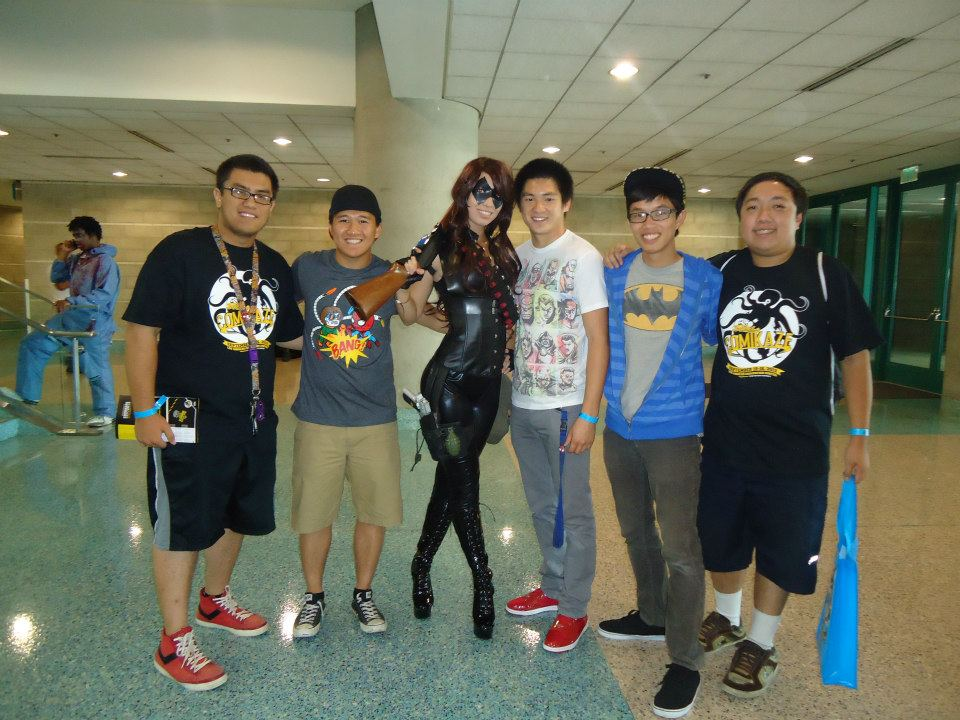 Our first convention as a group, Comikaze 2012.