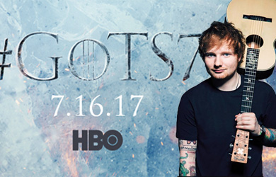 Ed Sheeran will be making a guest star appearance on 'Game of Thrones' season 7.