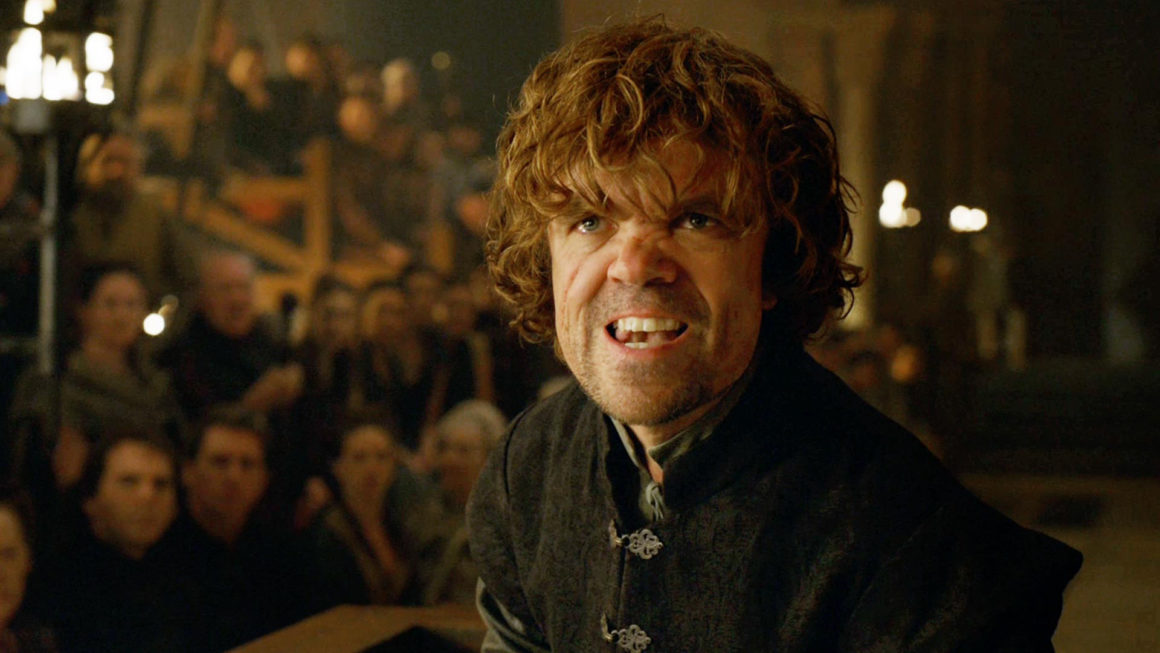 Tyrion's speech condemning sizeism helped Dinklage nab an Emmy nod in 2014. Photo: HBO.