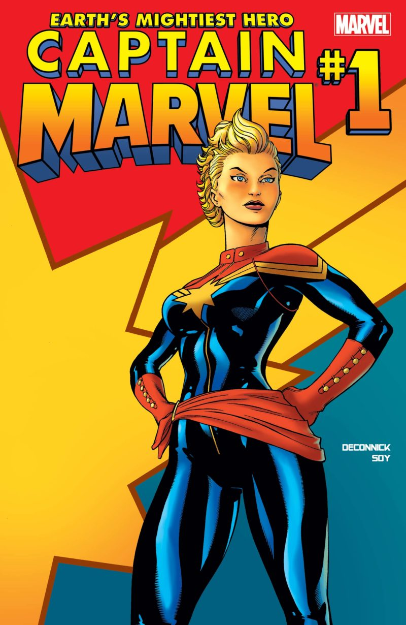 Captain Marvel (2012) #1. Photo: Marvel