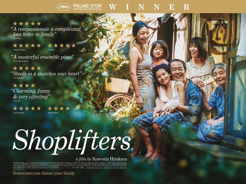 Shoplifters by Hirokazu Kore-eda. Photo: GAGA Pictures