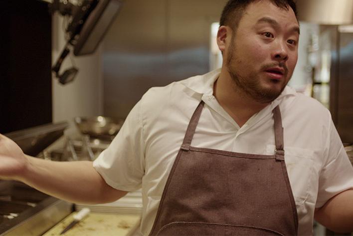 David Chang on Ugly Delicious. Photo: Netflix