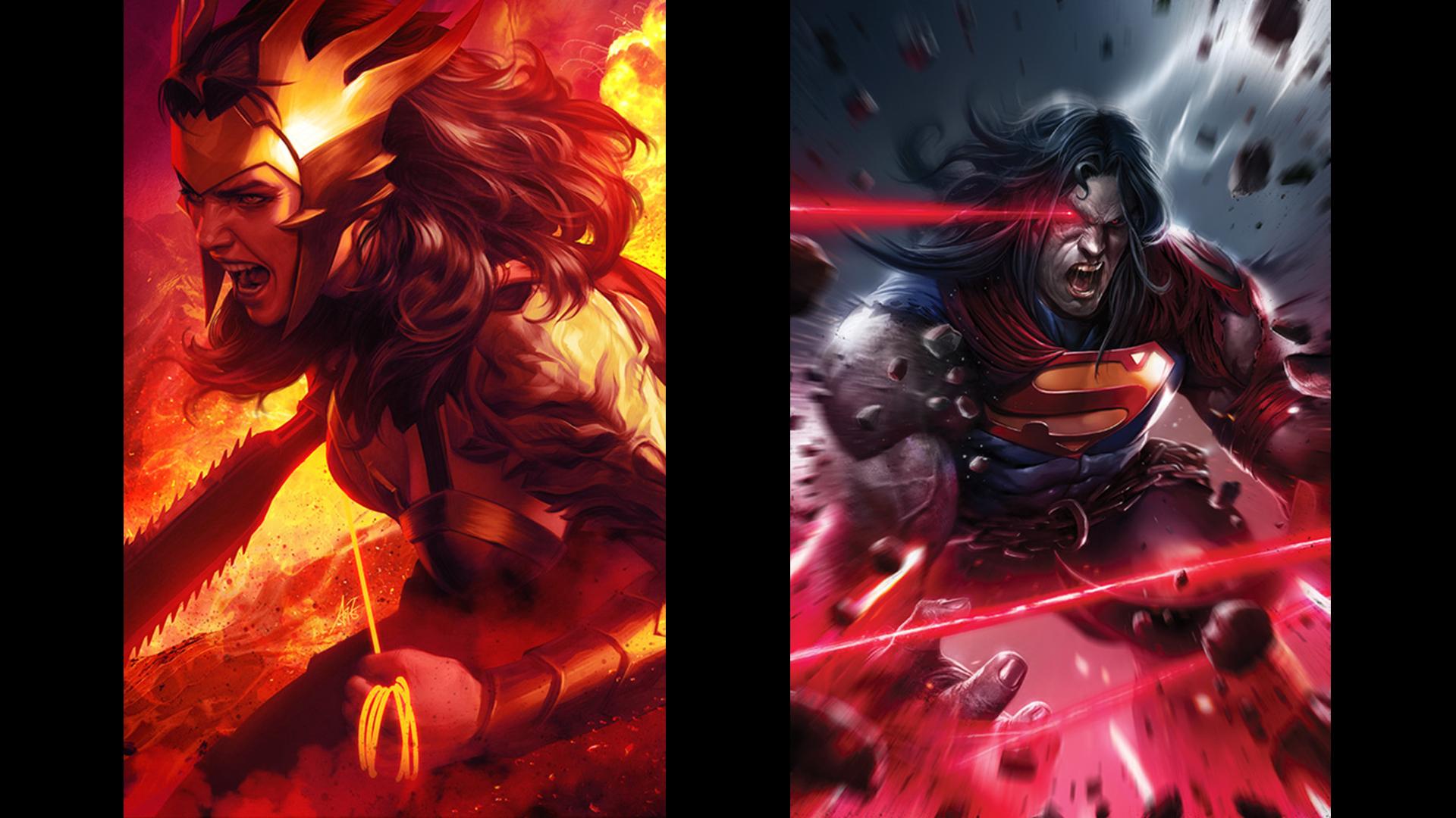 "Art by Stanley ""Artgerm"" Lau and Francesco Mattina. Photo: DC Comics"