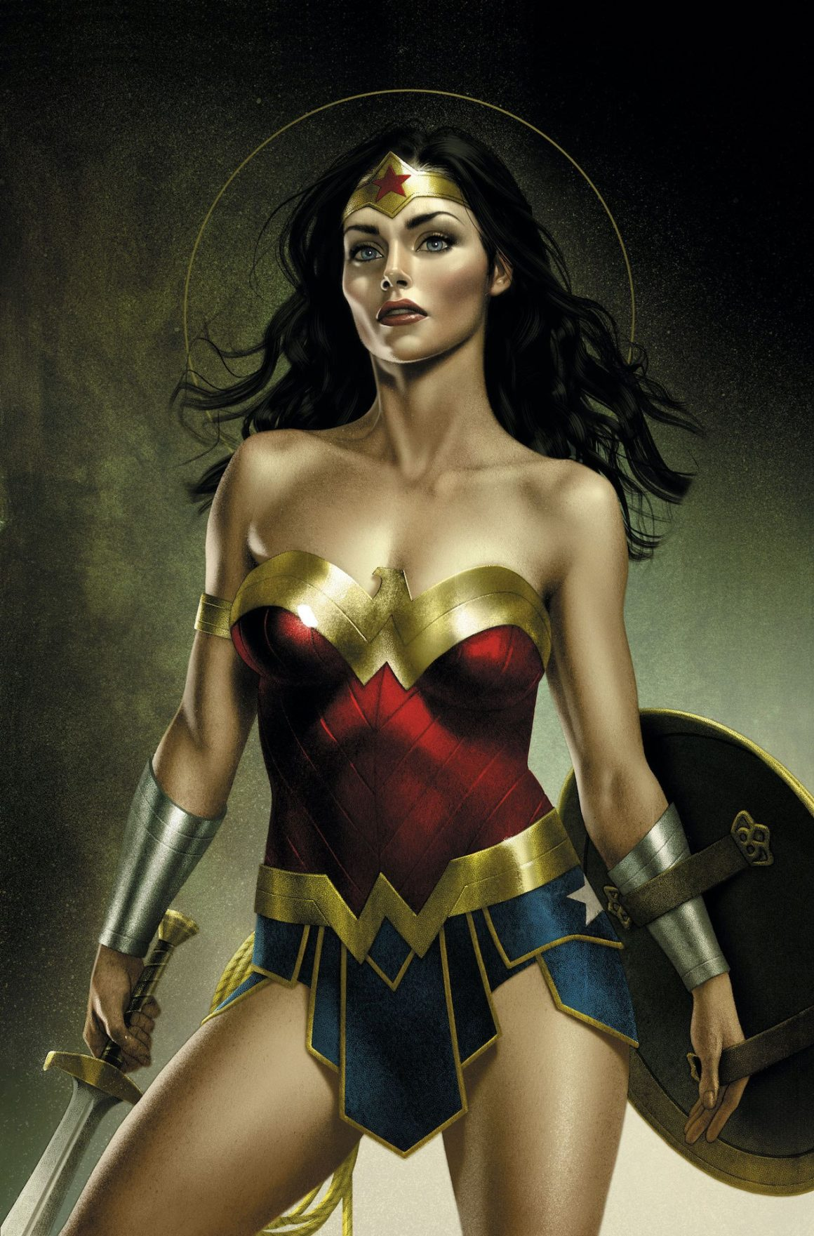 Variant cover by Josh Middleton for Wonder Woman #760. Photo: DC Comics
