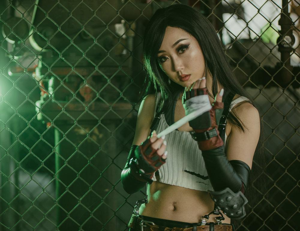 @JS_Cosplay as Tifa Lockhart from Final Fantasy VII. Photo: remcreate