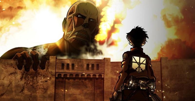 Humanity vs Titans. Photo: Wit Studio