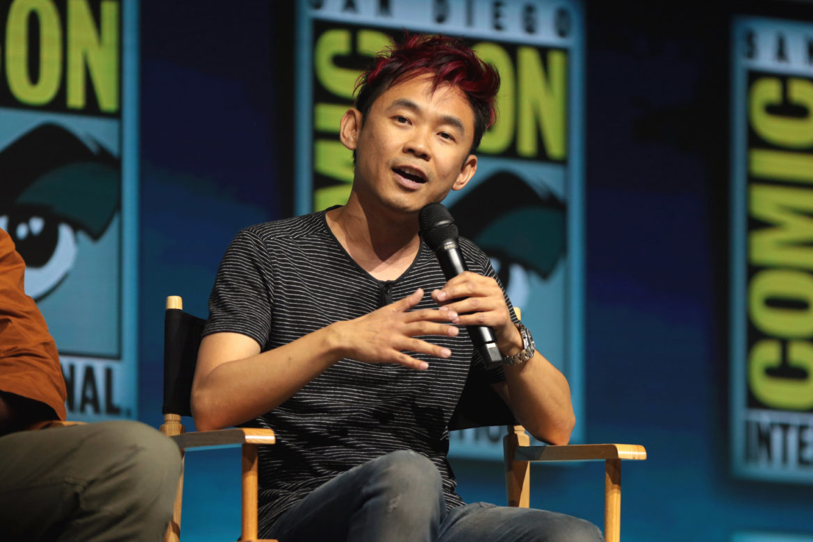 """James Wan speaking at the 2018 San Diego Comic Con International, for """"Aquaman"""", at the San Diego Convention Center in San Diego, California. Photo: Gage Skidmore"""