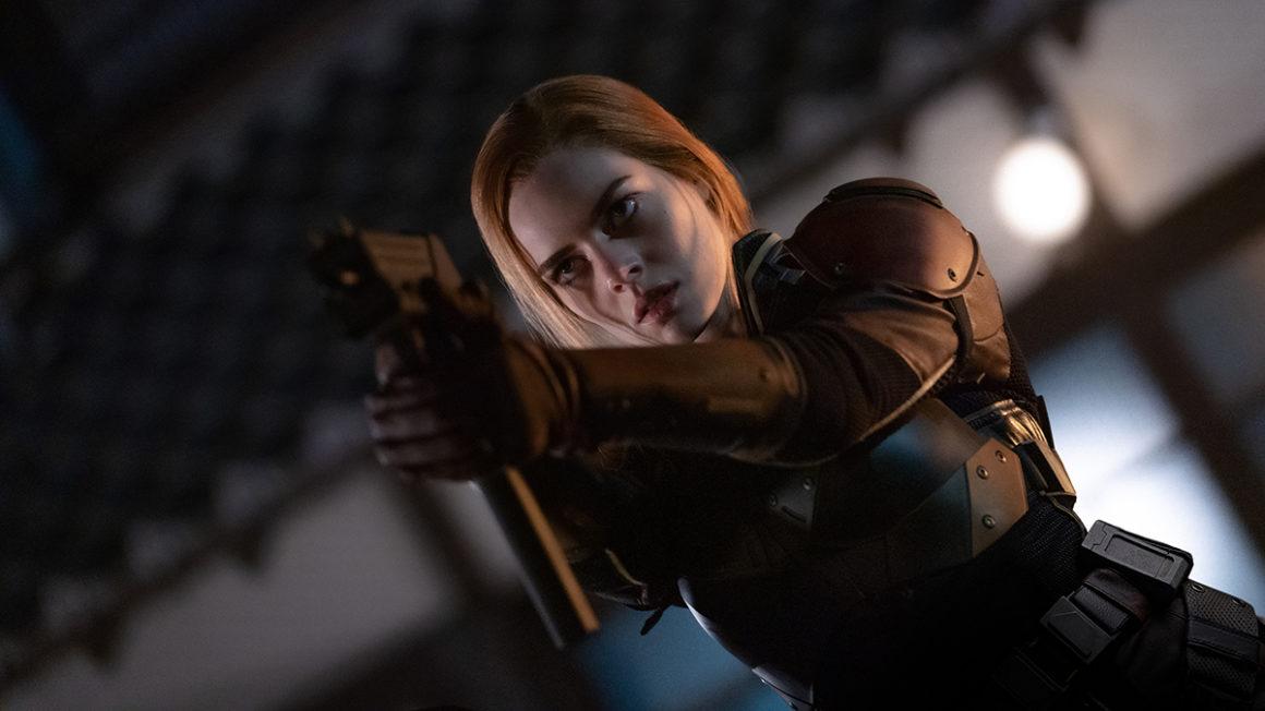 Samara Weaving plays Scarlett in Snake Eyes: G.I. Joe Origins from Paramount Pictures, Metro-Goldwyn-Mayer Pictures and Skydance.