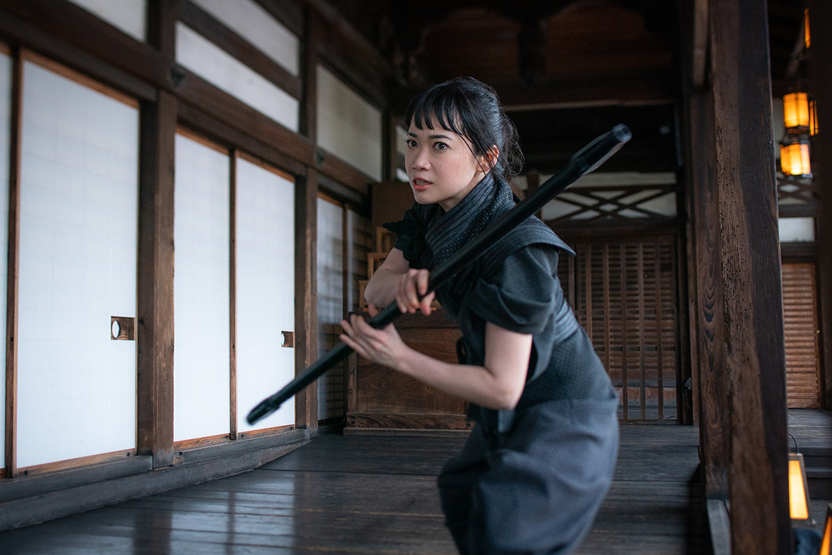 Haruka Abe plays Akiko in Snake Eyes: G.I. Joe Origins from Paramount Pictures, Metro-Goldwyn-Mayer Pictures and Skydance.