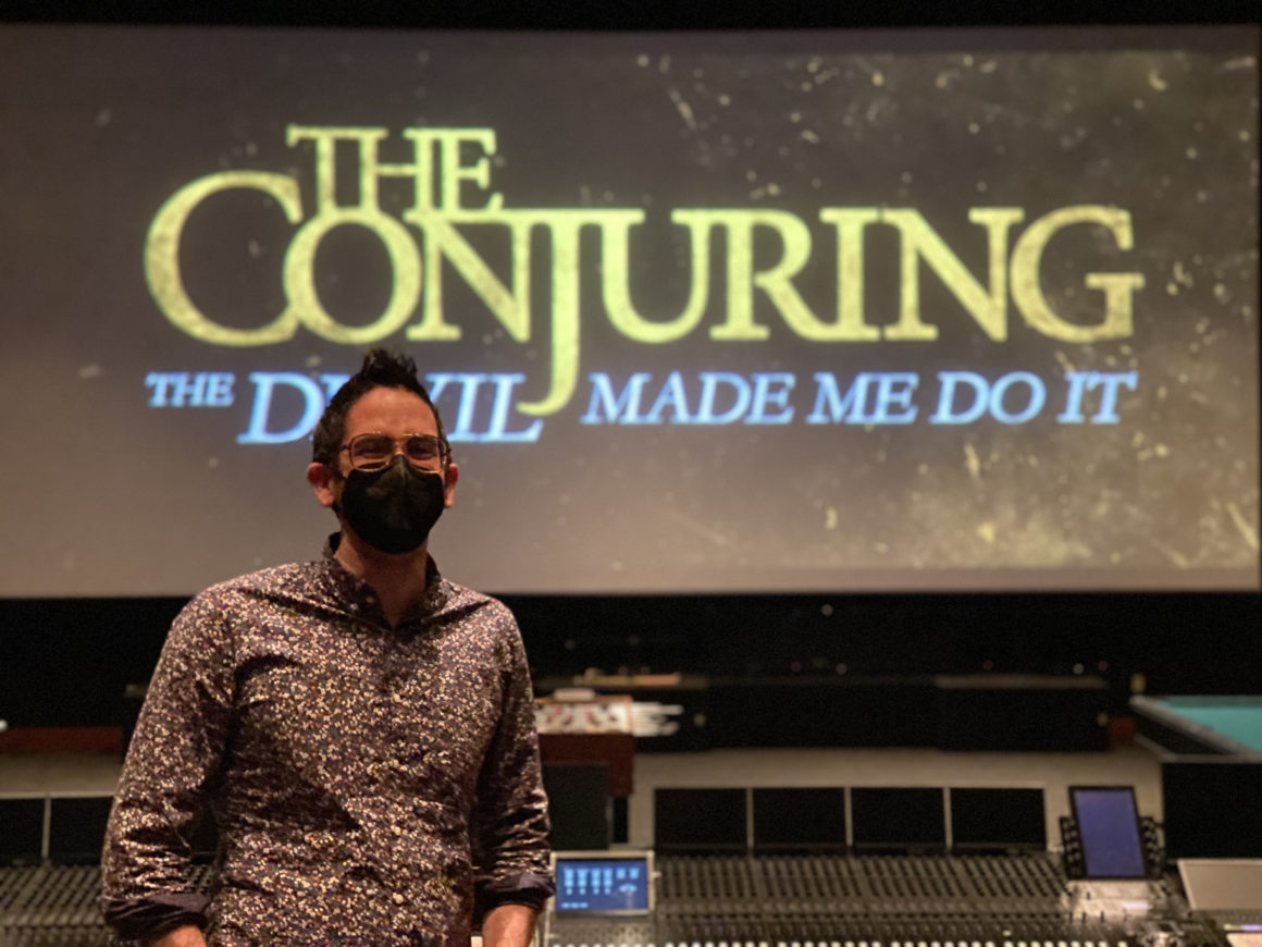 Director Michael Chaves gave an early look at the beginning of 'The Conjuring: The Devil Made Me Do It' and shares his experiences.