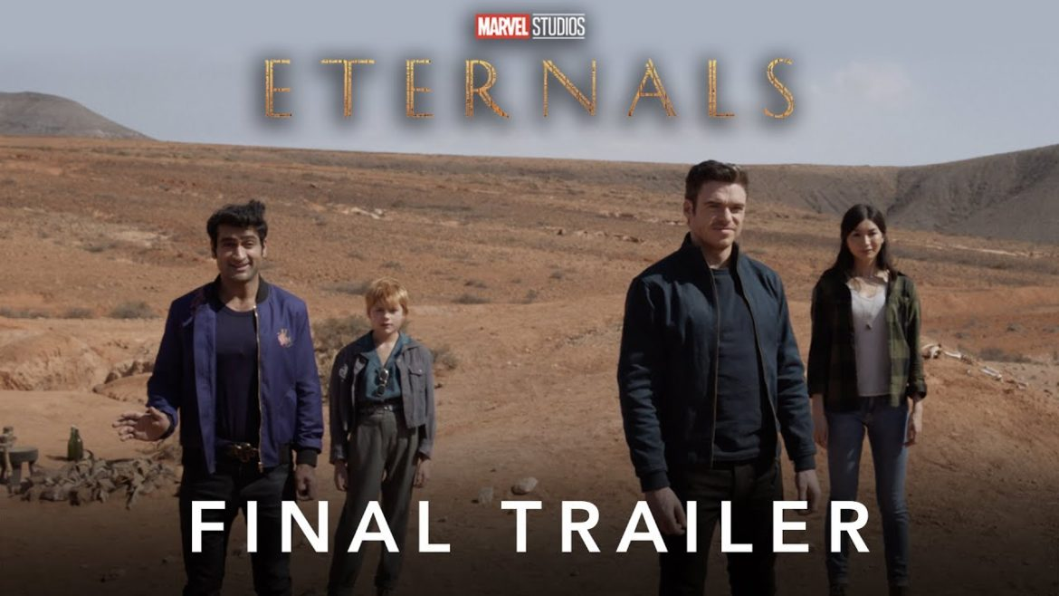 """""""When you love something, you protect it."""" Watch the brand new trailer for Marvel Studios' """"Eternals."""" Arriving in theaters November 5."""