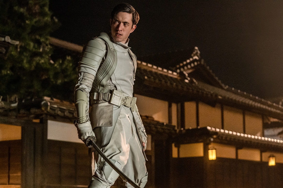 Andrew Koji plays Tommy/Storm Shadow in Snake Eyes: G.I. Joe Origins from Paramount Pictures, Metro-Goldwyn-Mayer Pictures and Skydance.